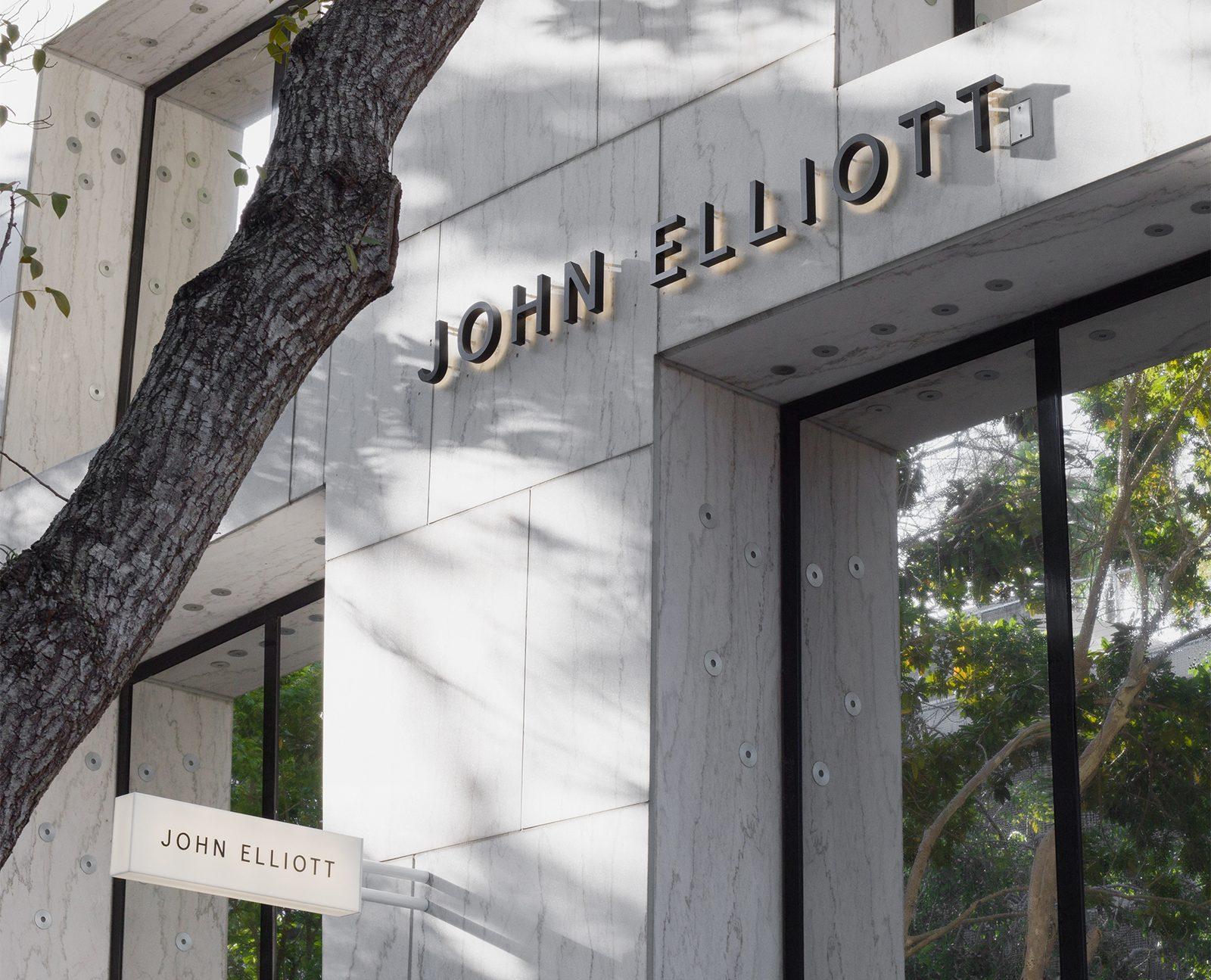 John Elliott in Miami Design District