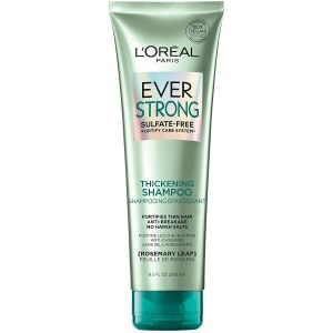 L'Oreal Paris EverStrong Thickening Shampoo, best hair thickening shampoos