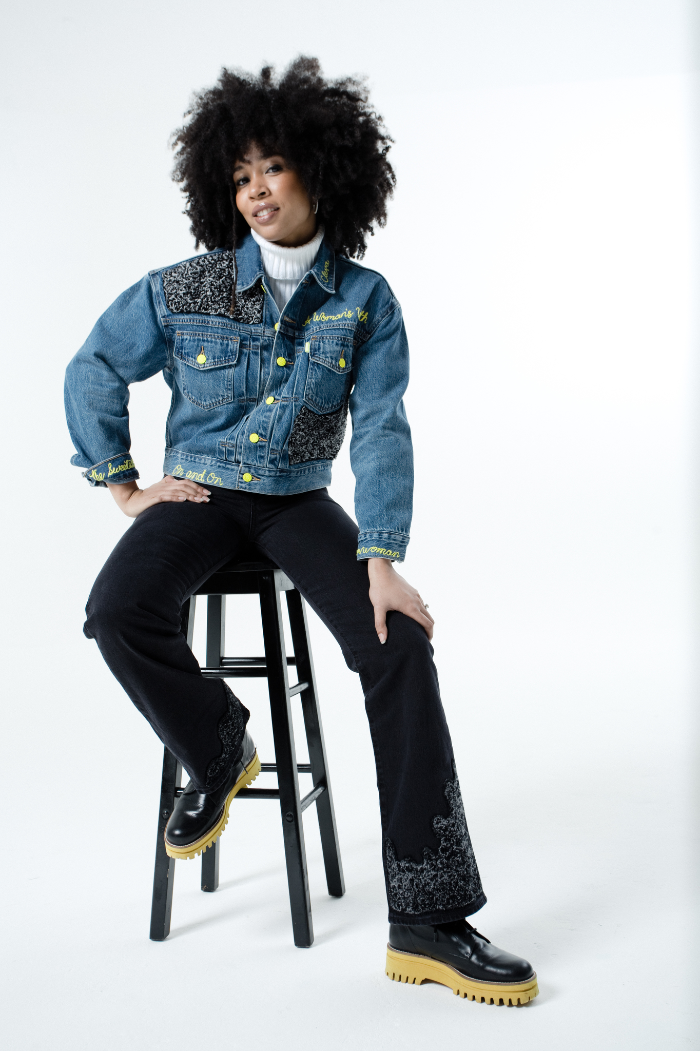 Marissa Wilson's clothing from her collaboration with Levi's