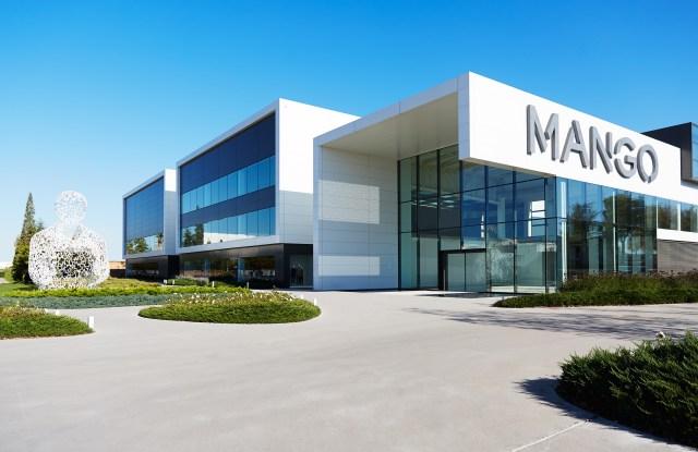 The Mango headquarters in Barcelona, Spain.