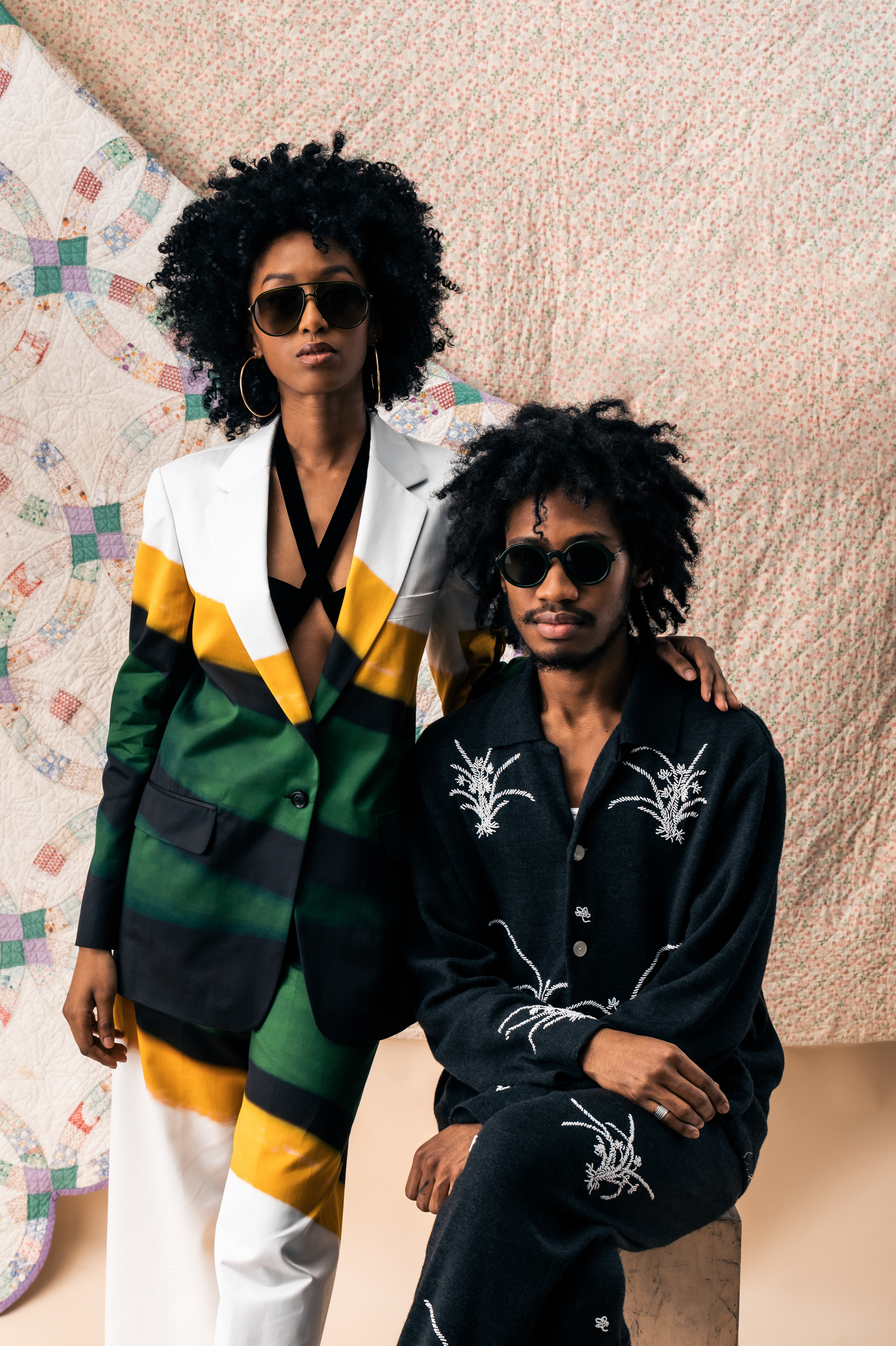 Marcus Paul's sunglasses for Haffmans & Neumeister.
