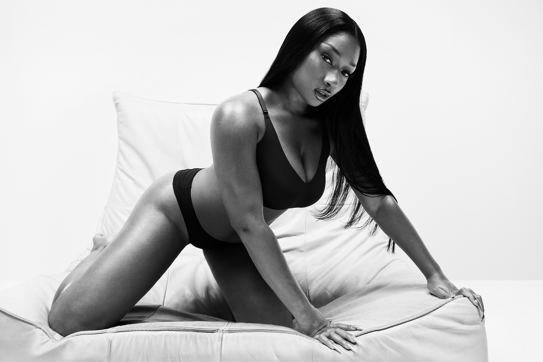 Megan Thee Stallion is featured in Calvin Klein's spring campaign.