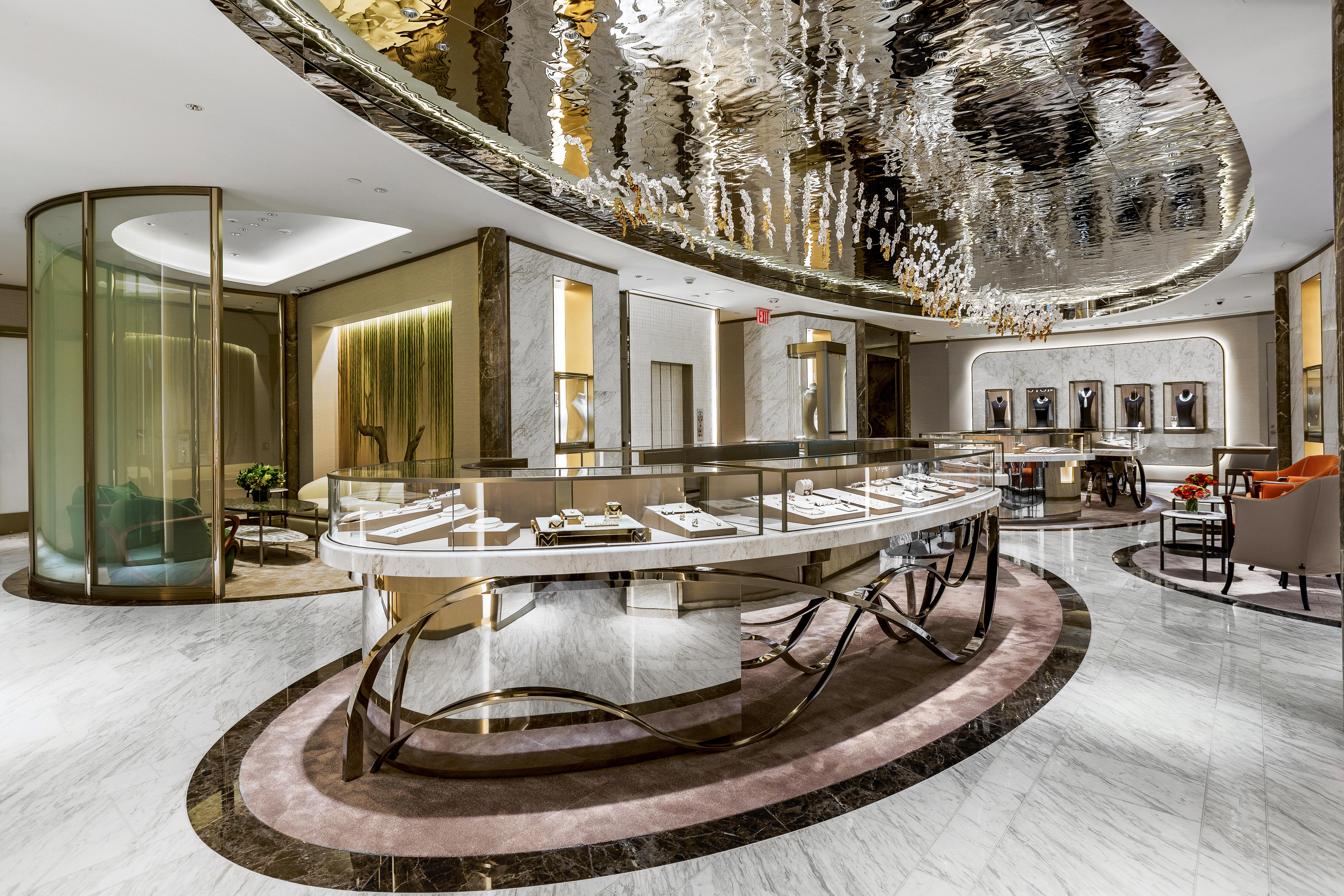 Mikimoto's New York City flagship.