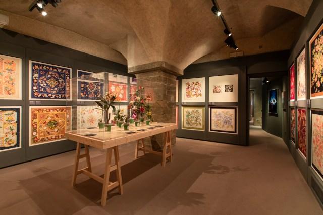 نمایشگاه Seta در Museo Salvatore Ferragamo در فلورانس.