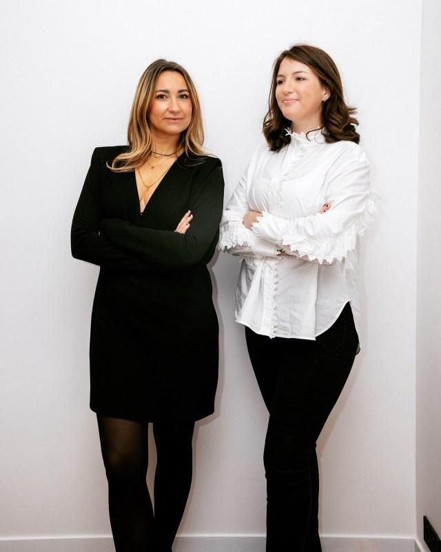 Capucine Duguy and Roxane Roche.