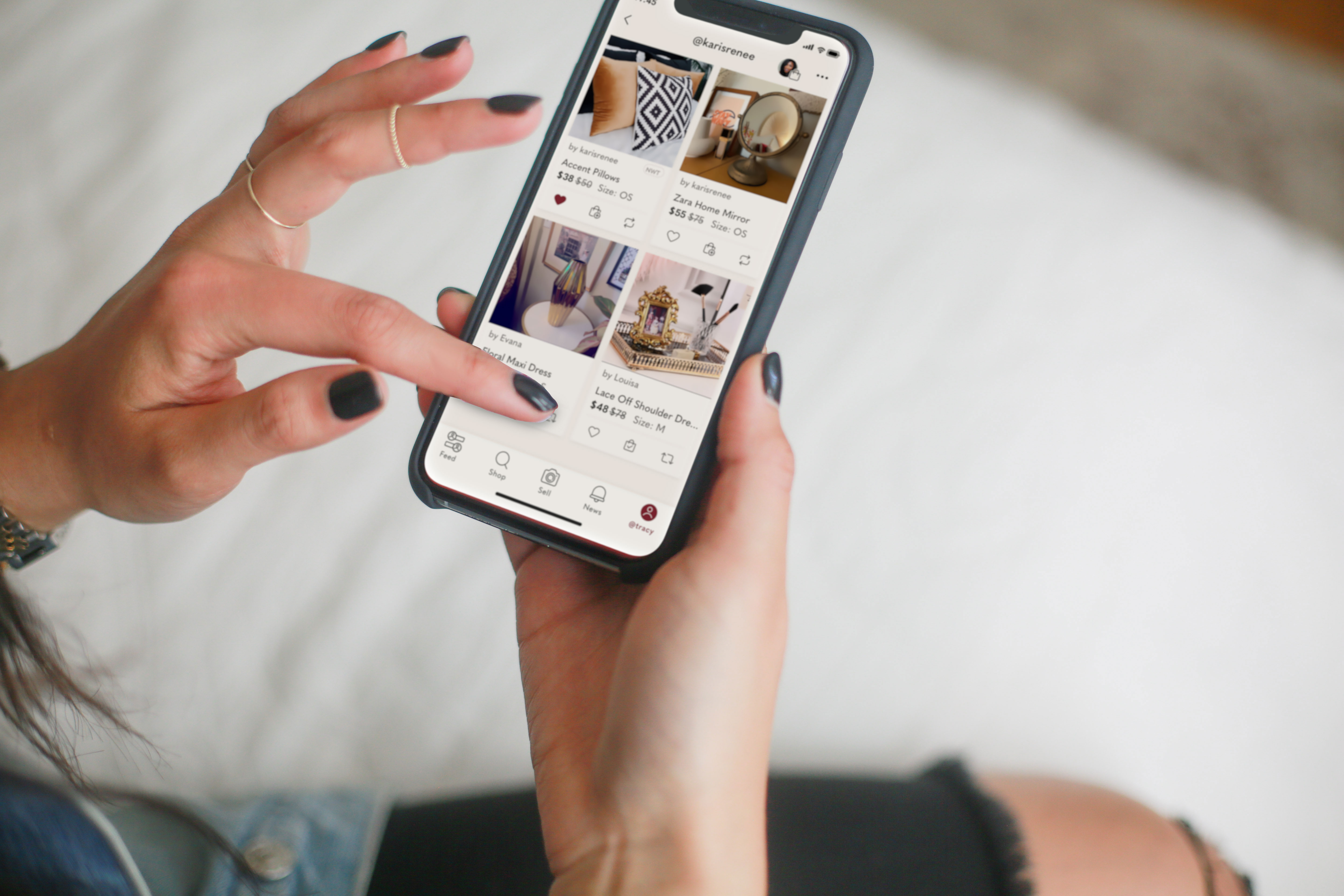 Poshmark combines resale, social selling and an inventory-zero model. Now, alongside its first earnings report after its IPO, the company announced that it's doubling down on video.