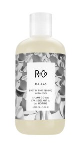 R+Co Dallas Biotin Thickening Shampoo, best hair thickening shampoos