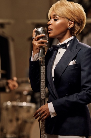 Janelle Monae in a look from Ralph Lauren RTW Spring 2021