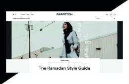 Farfetch's Ramadan style guide.
