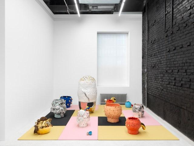 Installation view, Takuro Kuwata, Takuro Kuwata: Zungurimukkuri, 2021 Courtesy of the artist and Salon 94, New York. Photo: Dan Bradica