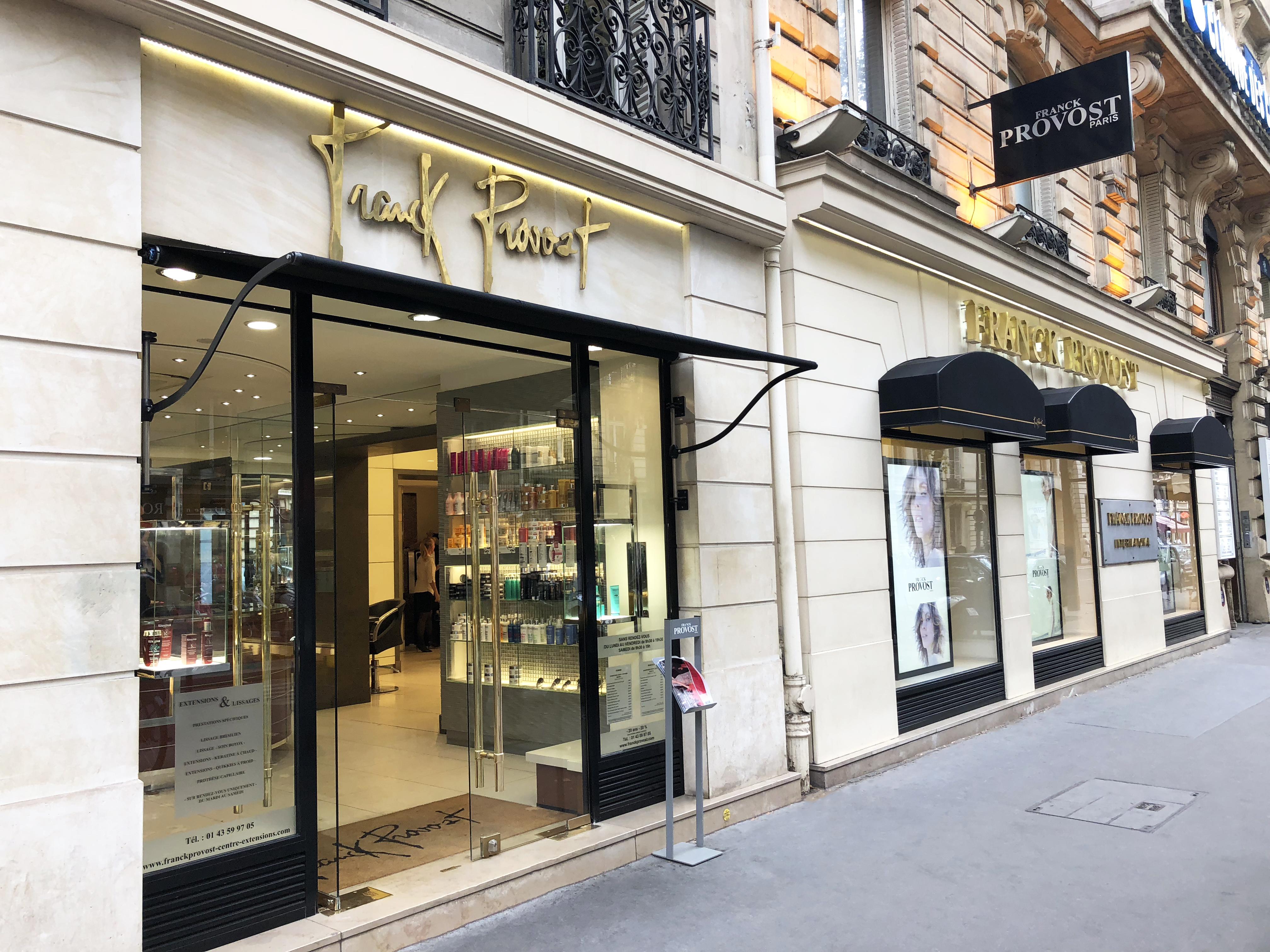 A Franck Provost salon