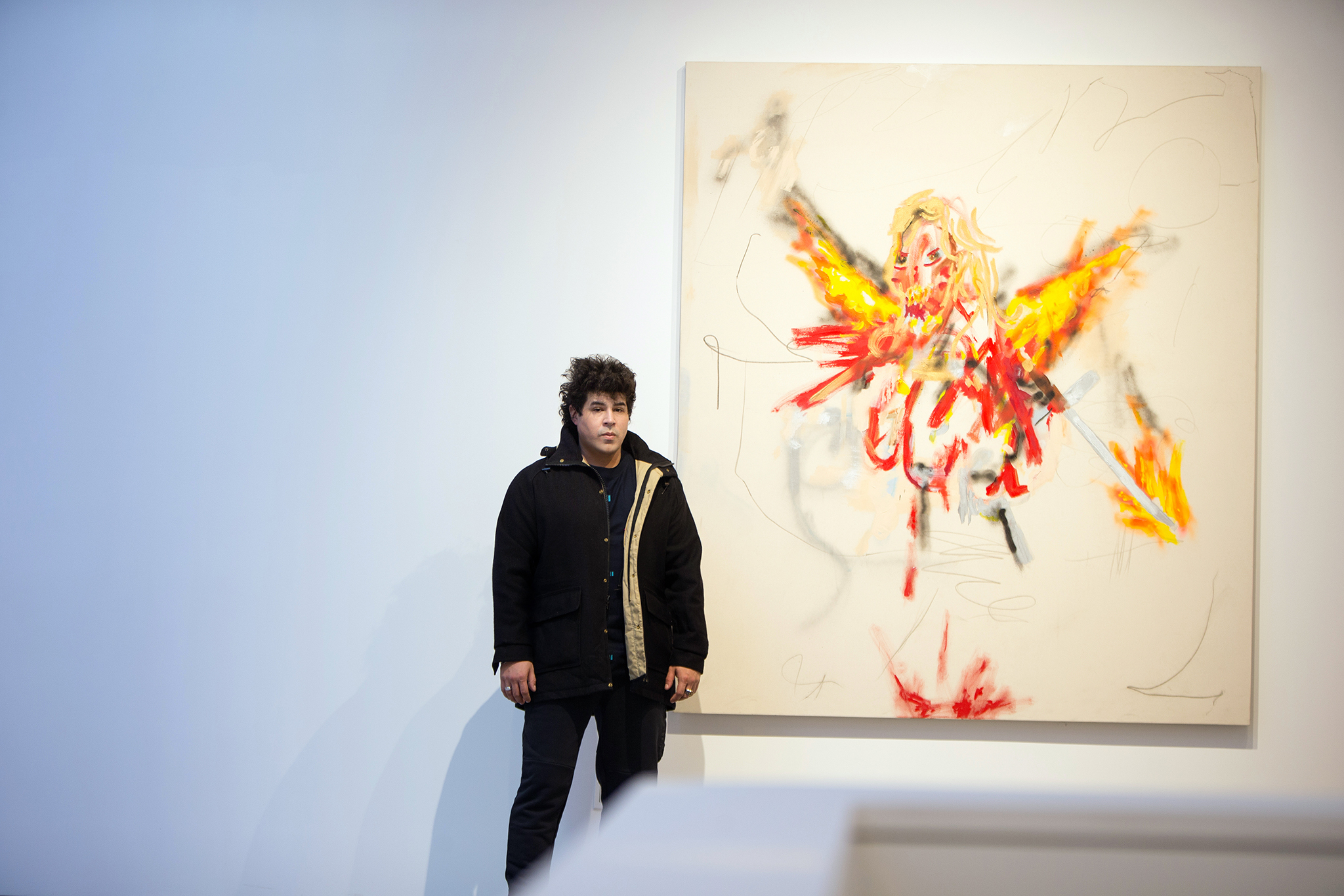 Painter Robert Nava Brings His Angels to Chelsea