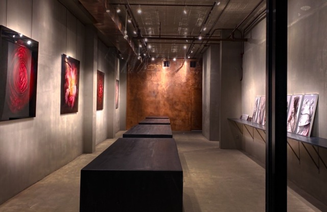 Inside The Gallery.