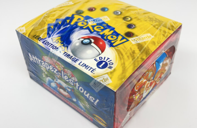 The Pokemon dek Duchamps.io is selling as its first lot.