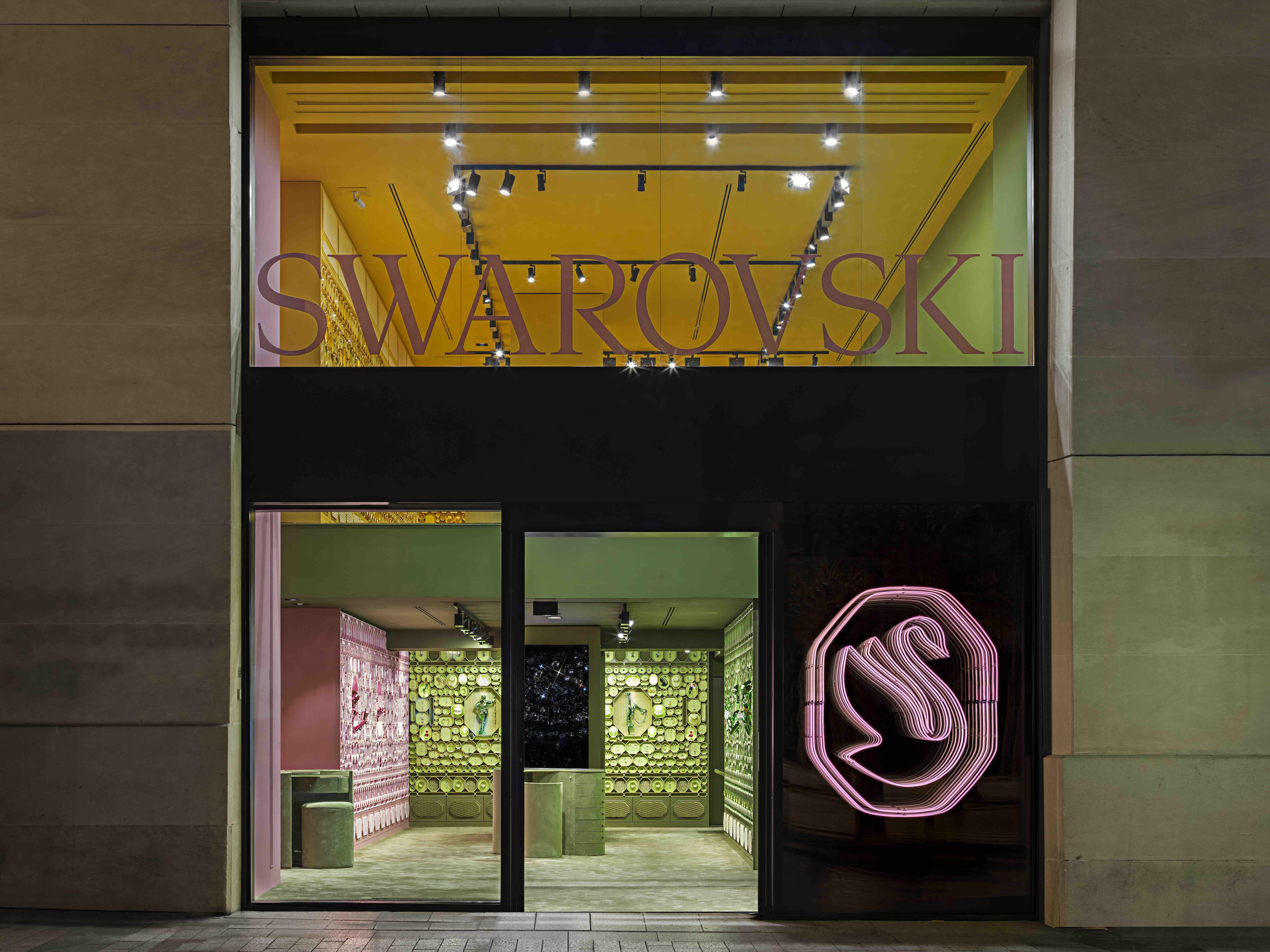 Swarovski Takes New Look Paris – WWD
