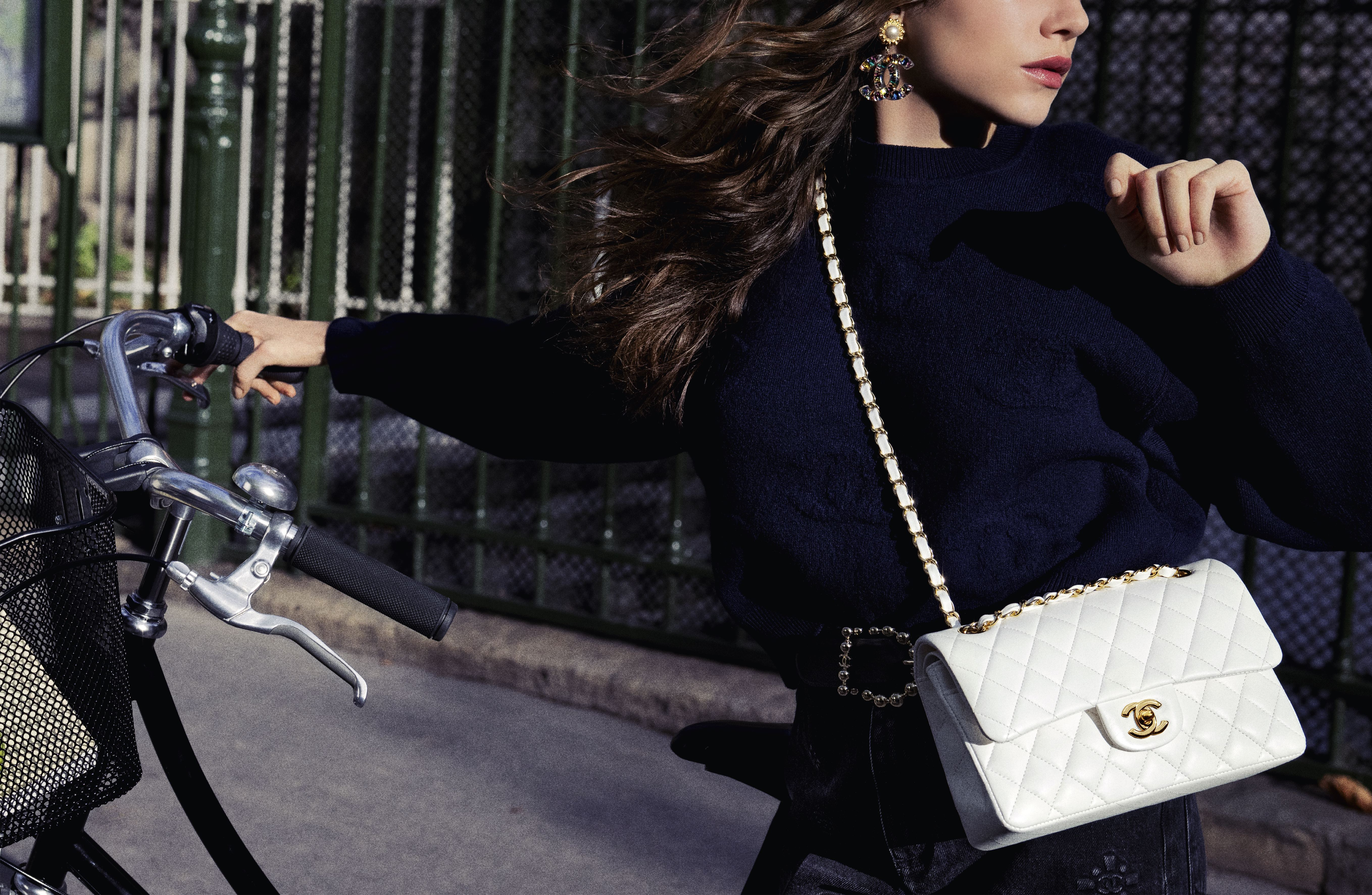 """An image from """"The Chanel Iconic"""" ad campaign shot by Inez van Lamsweerde and Vinoodh Matadin."""