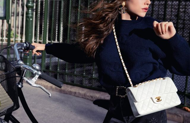 "An image from ""The Chanel Iconic"" ad campaign shot by Inez van Lamsweerde and Vinoodh Matadin."