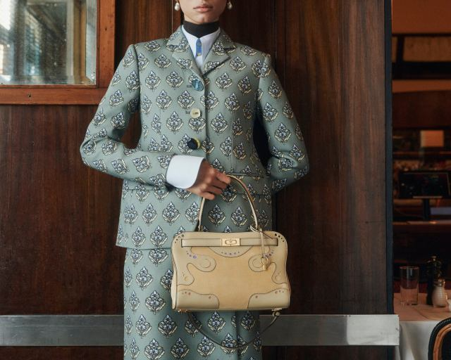 Western bag from Tory Burch fall 2021.