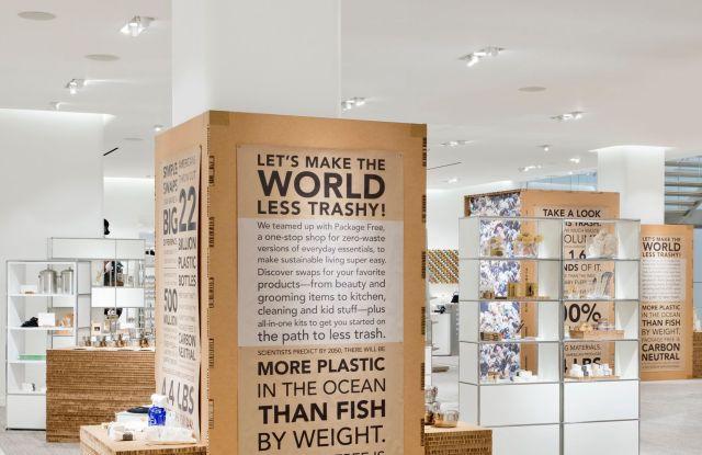 Pop in, Nordstrom, Package Free, zero-waste, sustainable