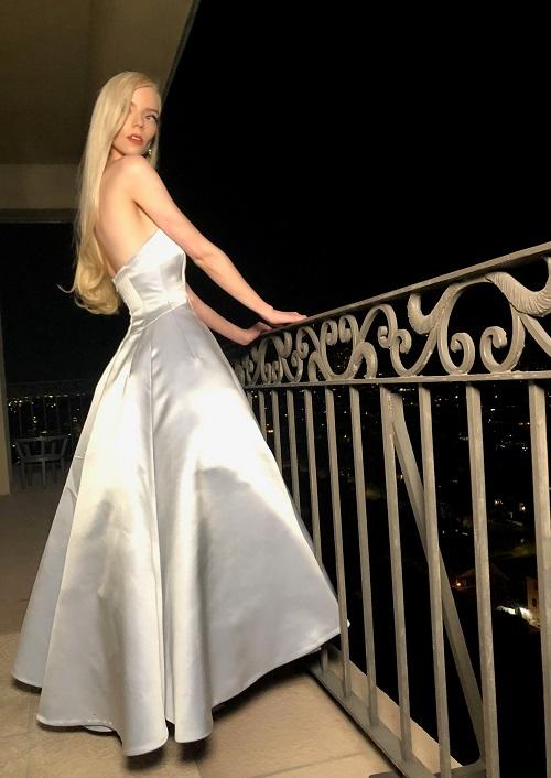Golden Globes 2021: Anya Taylor-Joy in Dior