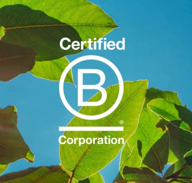 Certified B Corporation.
