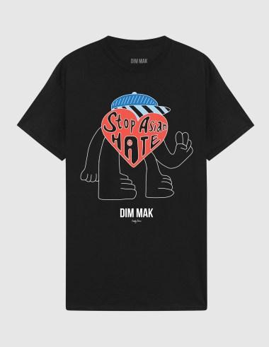 تی شرت دیم ماک و هنرمند Pretty Done's Stop Asian Hate