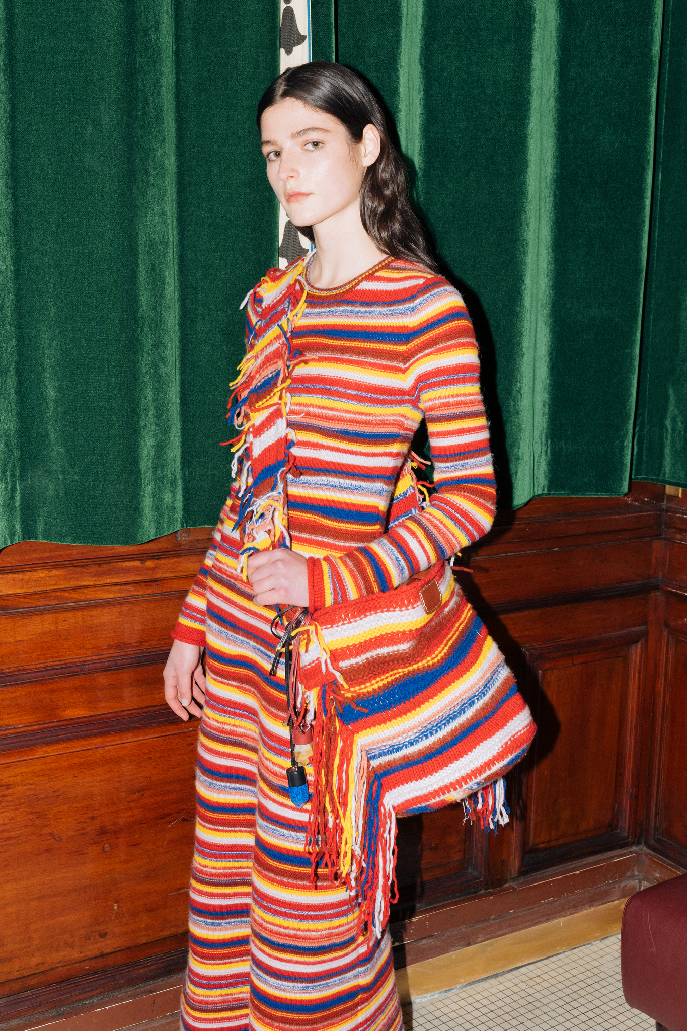 A look from Gabriela HearstÕs debut collection for Chloe