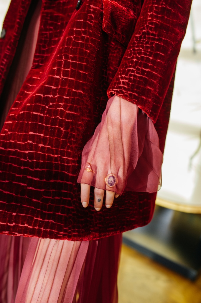 Behind the Scenes at Dior Fall 2021 Collection