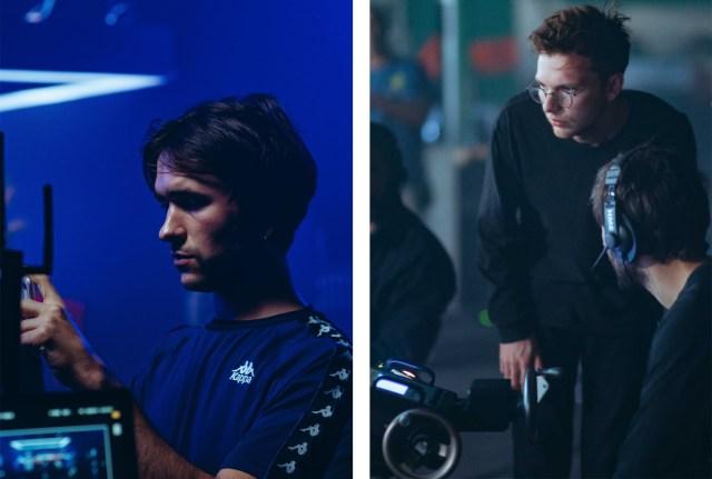 Co-directors Pablo Jones-Soler and Bradley Bell.