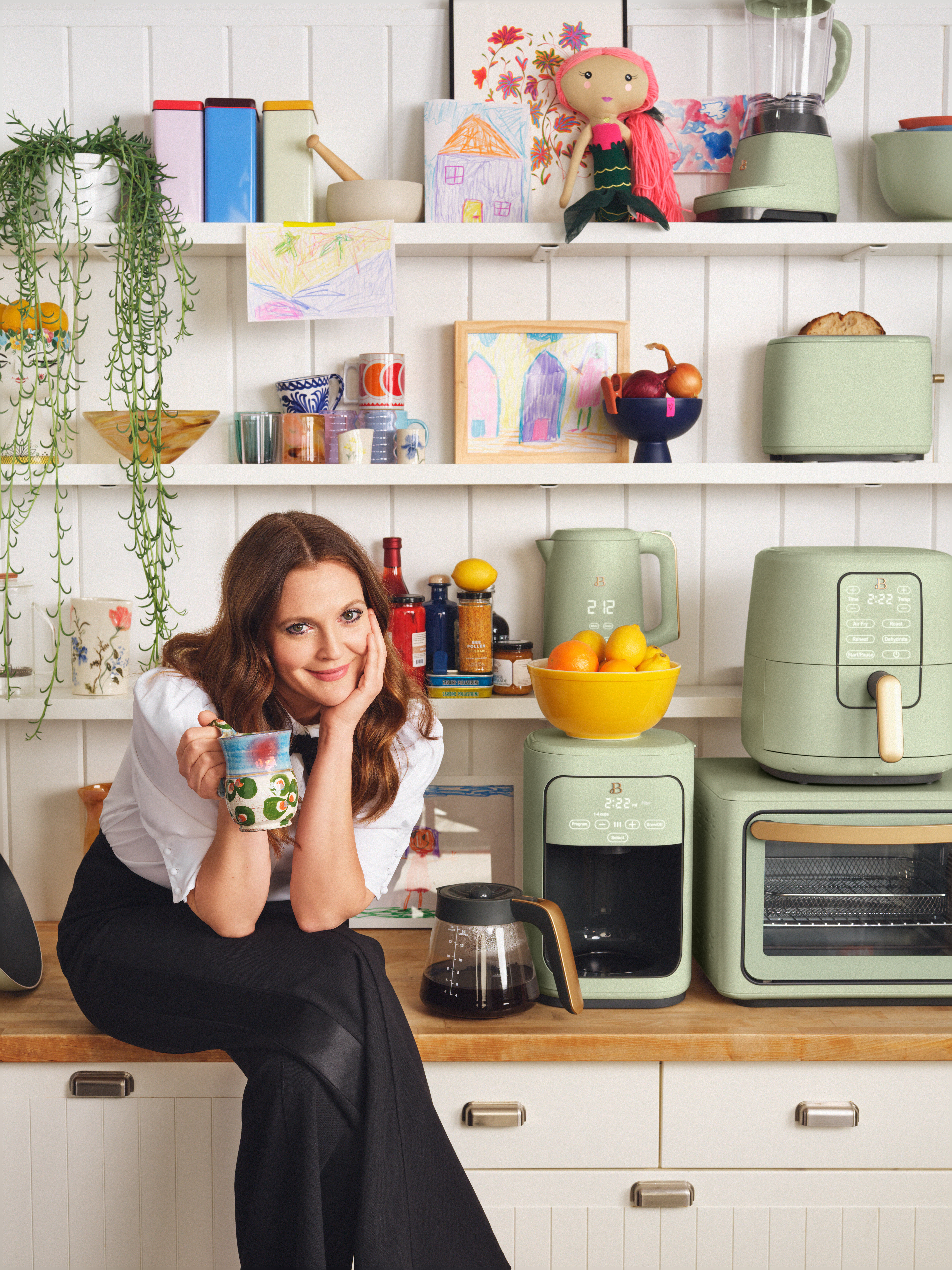 Drew Barrymore Beautiful Kitchenware Brand at Walmart