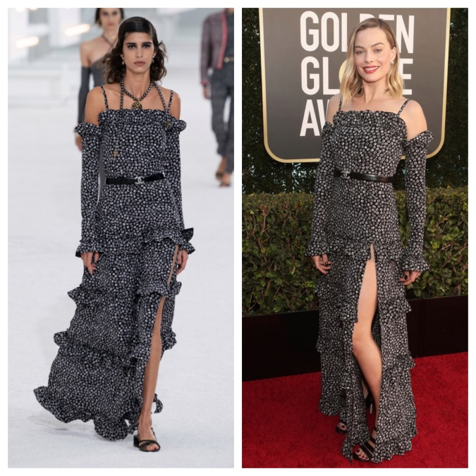 How 11 Golden Globes Outfits Looked Like on the Runway