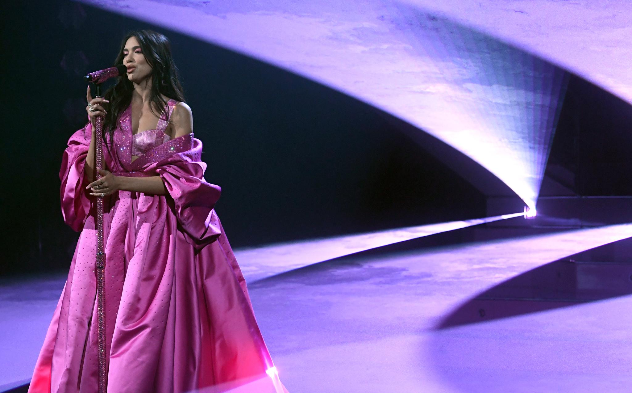 Dua Lipa 2021 Grammy Awards
