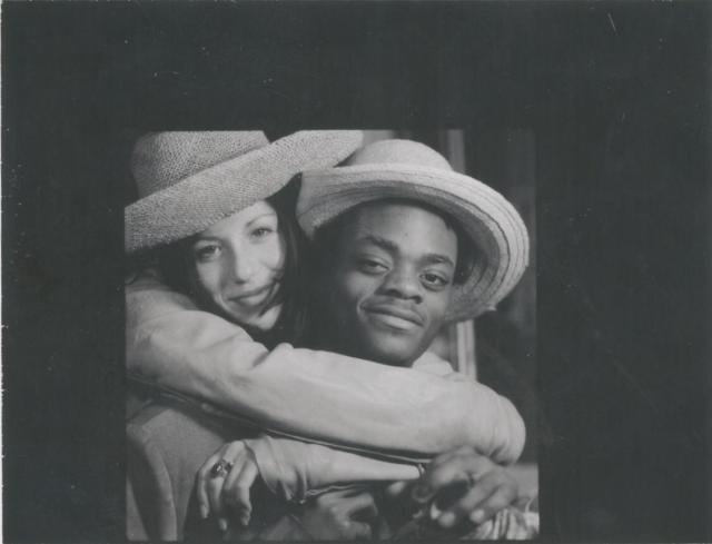 Soleil Moon Frye and Harold Hunter