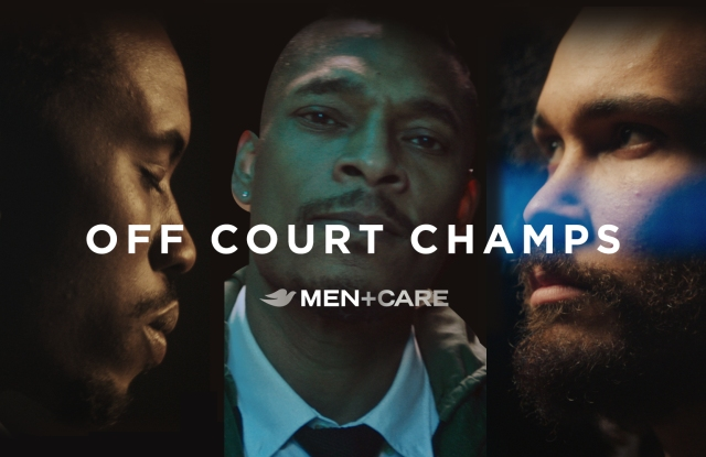Off Court Champs, the new campaign from Dove Men+Care dissolving stereotypes around Black Men.