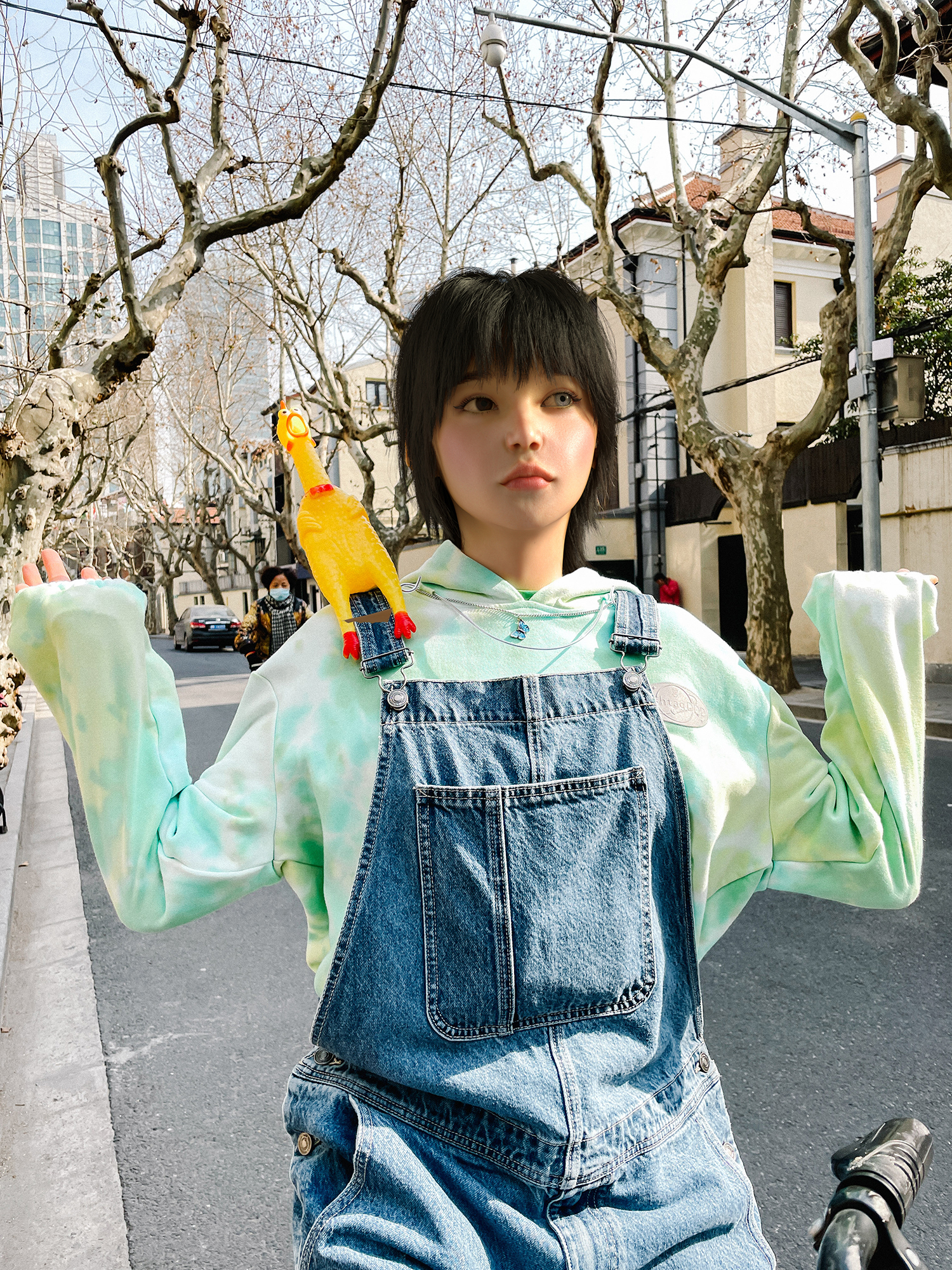 Maie is an upcoming virtual persona living in Shanghai.