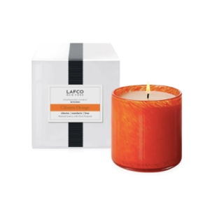 lafco orange scented candle, saks friends and family sale