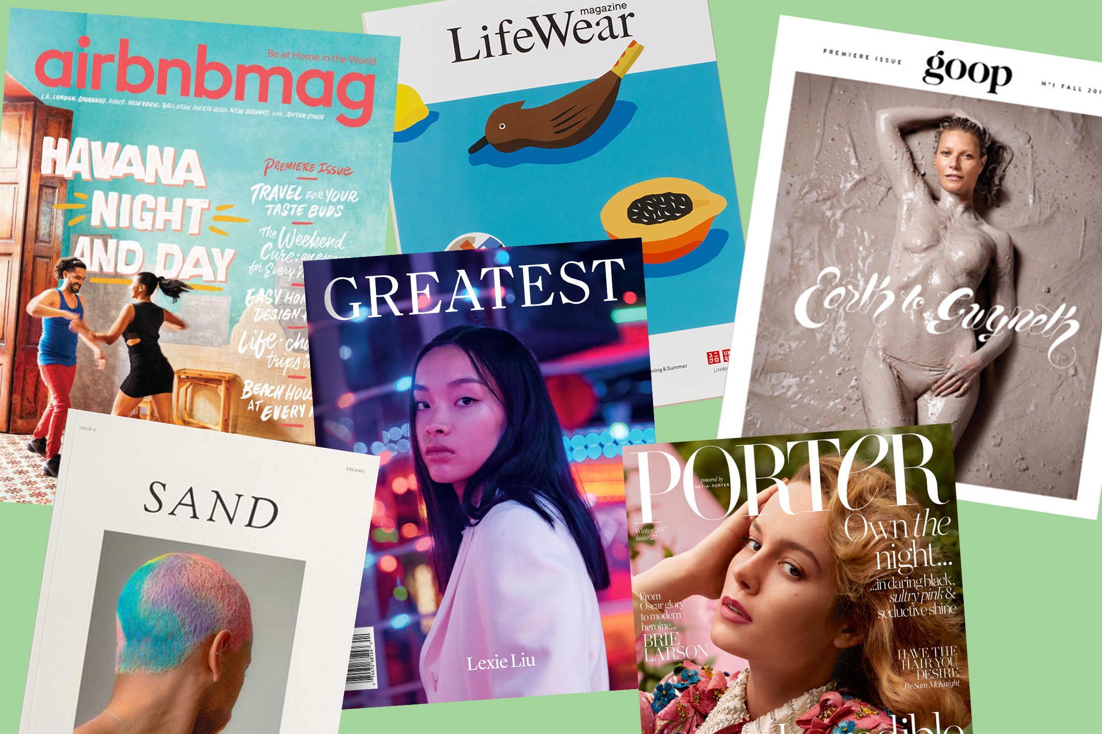 Brand magazines