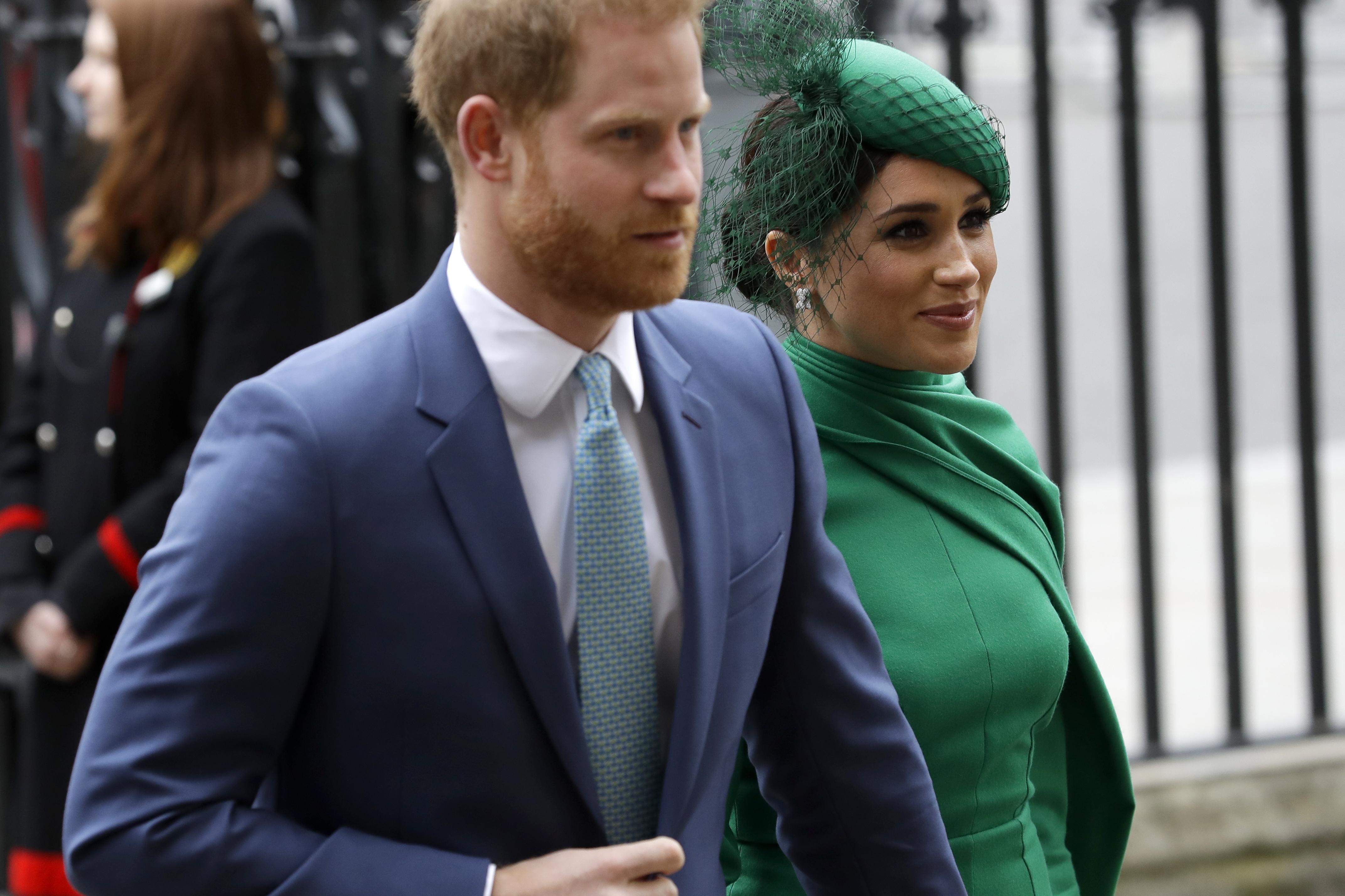 Prince Harry, Meghan Markle Royal Family Split Lifetime Movie