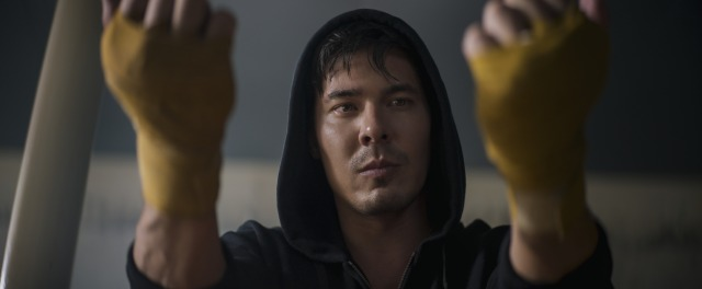 """Lewis Tan as Cole Young in """"Mortal Kombat."""""""