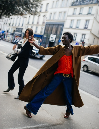 Street Style at Paris Fashion Week Fall 2021