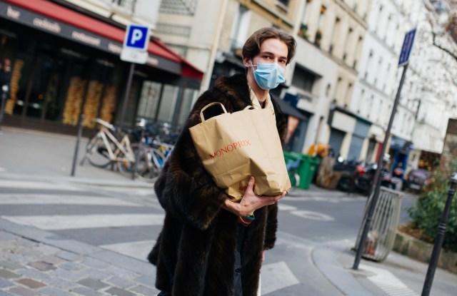 Street Style at Paris Fashion Week Fall 2021