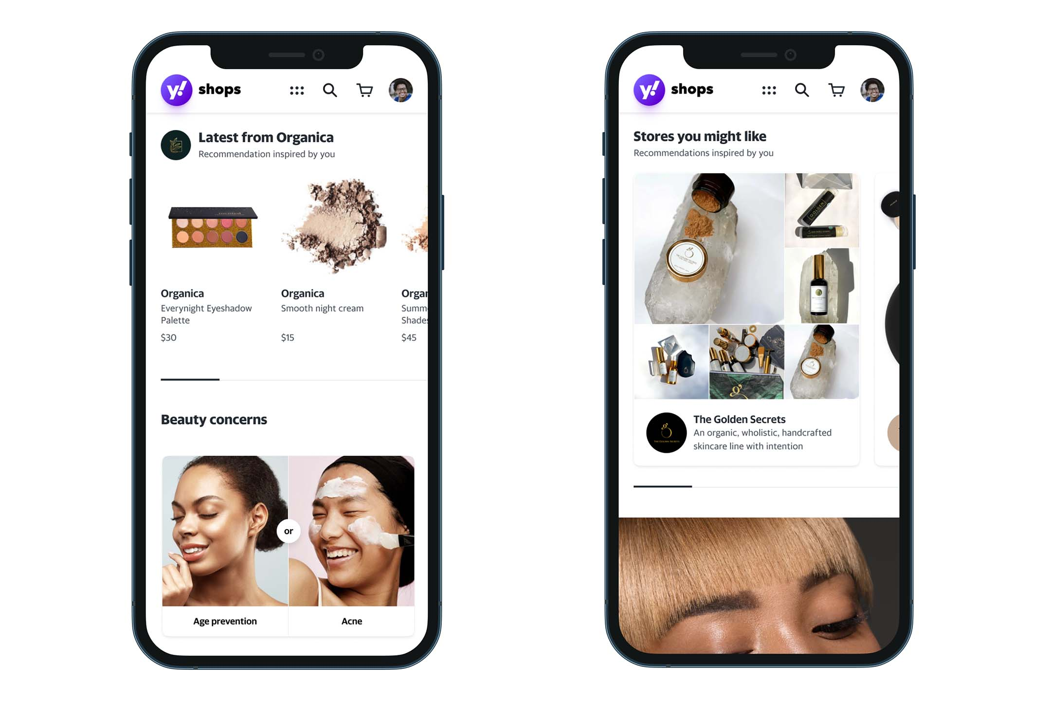 Yahoo App Timely for shopping