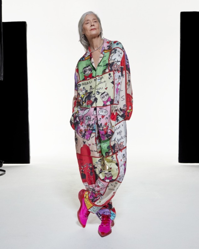 A silk pajama designed by Alber Elbaz for his debut AZ Factory collection is among the lots being auctioned online to benefit students struggling with poverty.