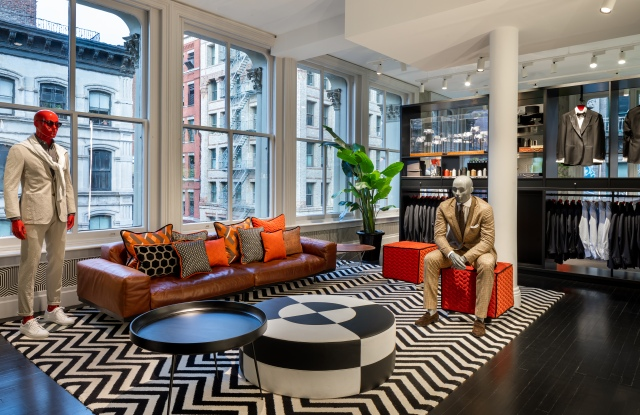 Suitsupply's SoHo store.