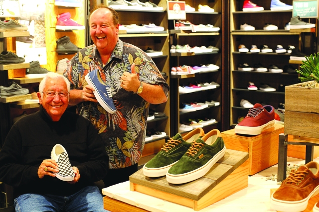 Paul and Steve Van Doren