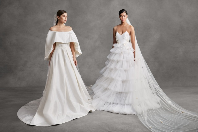 Looks from Andrew Kwon Bridal Spring 2021