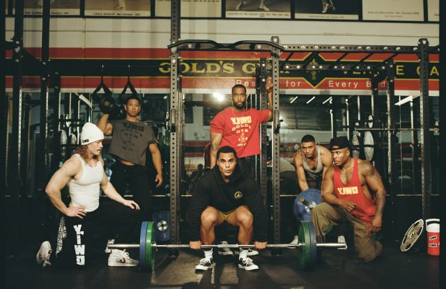 The Y,IWO x Gold's Gym collection