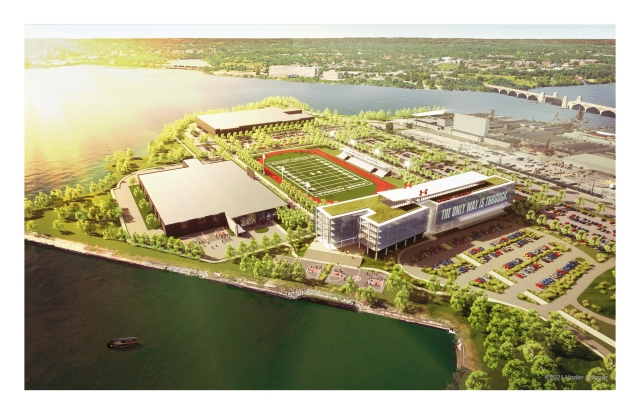 The new Under Armour headquarters.