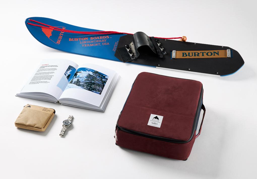 The Shinola x Burton gift set.