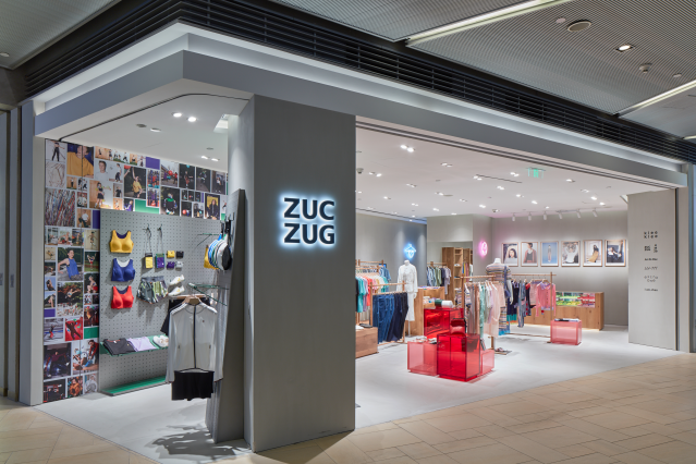 A ZucZug store in Shanghai